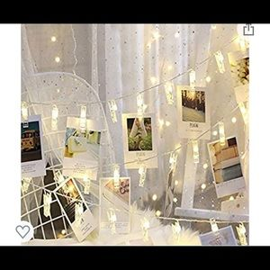 Lights with picture clips